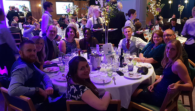 Microbee team at MCC Best Business awards